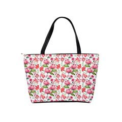 Floral Classic Shoulder Handbag By Joy   Classic Shoulder Handbag   Dssunfhb727u   Www Artscow Com Back