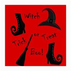 Witch Supplies  Medium Glasses Cloth by Valentinaart