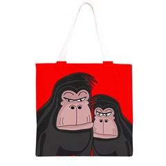 Gorillas Grocery Light Tote Bag