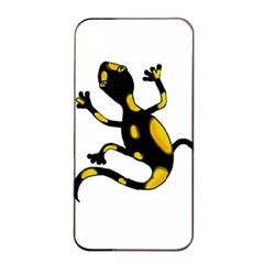 Lizard Apple Iphone 4/4s Seamless Case (black) by Valentinaart