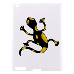 Lizard Apple Ipad 3/4 Hardshell Case by Valentinaart