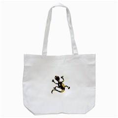 Lizard Tote Bag (white) by Valentinaart