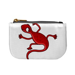 Red Lizard Mini Coin Purses by Valentinaart