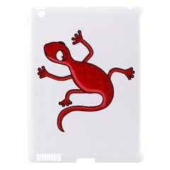 Red Lizard Apple Ipad 3/4 Hardshell Case (compatible With Smart Cover) by Valentinaart