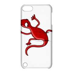 Red Lizard Apple Ipod Touch 5 Hardshell Case With Stand by Valentinaart
