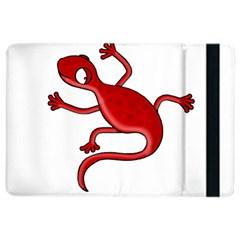 Red Lizard Ipad Air 2 Flip by Valentinaart