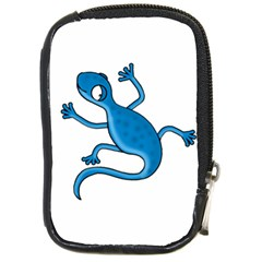 Blue Lizard Compact Camera Cases by Valentinaart