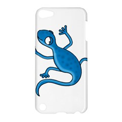 Blue Lizard Apple Ipod Touch 5 Hardshell Case by Valentinaart
