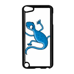 Blue Lizard Apple Ipod Touch 5 Case (black) by Valentinaart