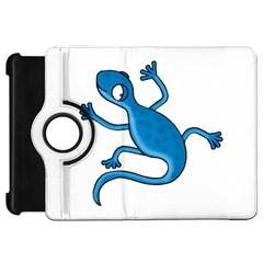 Blue Lizard Kindle Fire Hd Flip 360 Case by Valentinaart