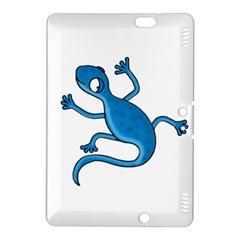 Blue Lizard Kindle Fire Hdx 8 9  Hardshell Case by Valentinaart