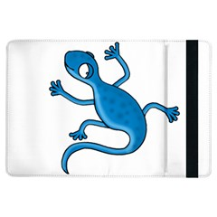 Blue Lizard Ipad Air Flip by Valentinaart