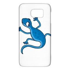 Blue Lizard Galaxy S6 by Valentinaart