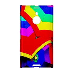 Umbrella Color Red Yellow Green Blue Purple Nokia Lumia 1520 by AnjaniArt