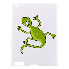 Green Lizard Apple Ipad 3/4 Hardshell Case by Valentinaart