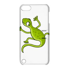 Green Lizard Apple Ipod Touch 5 Hardshell Case With Stand by Valentinaart