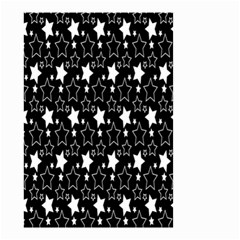 White Star Small Garden Flag (two Sides) by AnjaniArt