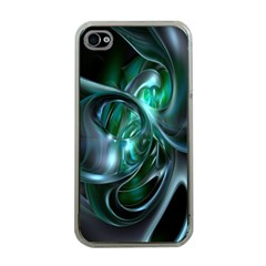 Ws Blue Green Float Apple Iphone 4 Case (clear) by AnjaniArt