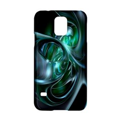 Ws Blue Green Float Samsung Galaxy S5 Hardshell Case  by AnjaniArt