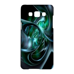 Ws Blue Green Float Samsung Galaxy A5 Hardshell Case  by AnjaniArt