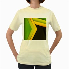 Your Resolution Women s Yellow T-Shirt by AnjaniArt