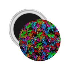 Lizard Pattern 2 25  Magnets