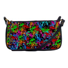 Lizard Pattern Shoulder Clutch Bags by Valentinaart
