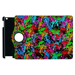 Lizard Pattern Apple Ipad 3/4 Flip 360 Case by Valentinaart