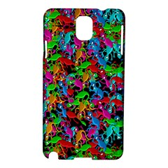 Lizard Pattern Samsung Galaxy Note 3 N9005 Hardshell Case by Valentinaart