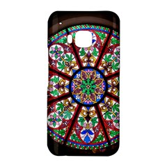 Church Window Window Rosette HTC One M9 Hardshell Case by Zeze