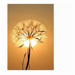 Dandelion Sun Dew Water Plants Large Garden Flag (Two Sides) by Zeze