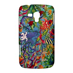 Dubai Abstract Art Samsung Galaxy Duos I8262 Hardshell Case  by Zeze