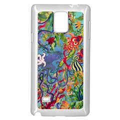Dubai Abstract Art Samsung Galaxy Note 4 Case (White) by Zeze