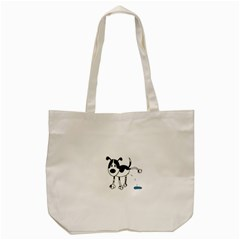 My Cute Dog Tote Bag (cream) by Valentinaart