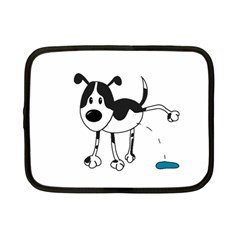 My Cute Dog Netbook Case (small)  by Valentinaart
