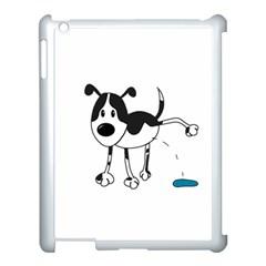 My Cute Dog Apple Ipad 3/4 Case (white) by Valentinaart