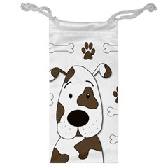 Cute Dog Jewelry Bags by Valentinaart