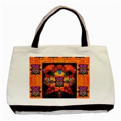 Clothing (20)6k,kk Basic Tote Bag (Two Sides)