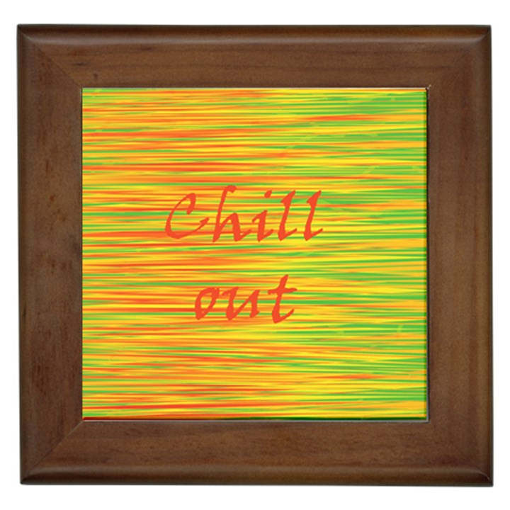 Chill out Framed Tiles