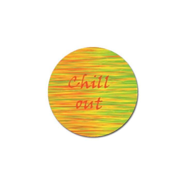 Chill out Golf Ball Marker (10 pack)