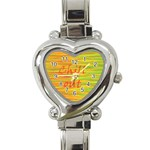 Chill out Heart Italian Charm Watch