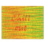 Chill out Rectangular Jigsaw Puzzl Front