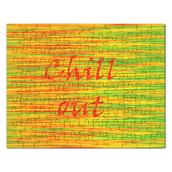 Chill out Rectangular Jigsaw Puzzl