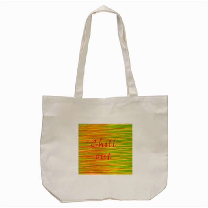 Chill out Tote Bag (Cream)