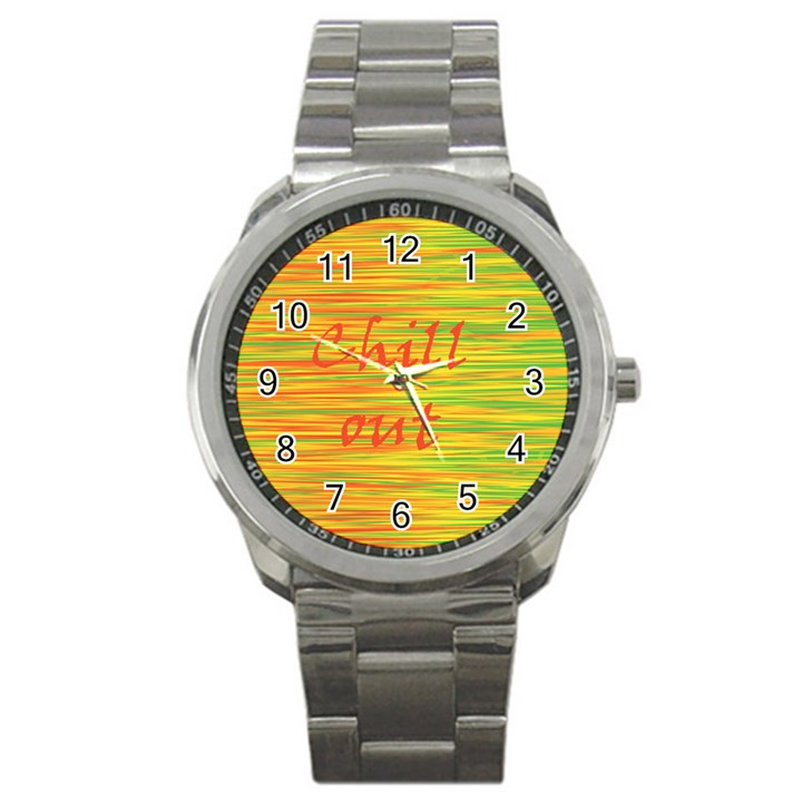 Chill out Sport Metal Watch