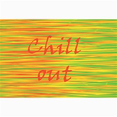 Chill Out Collage Prints by Valentinaart