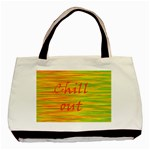 Chill out Basic Tote Bag Front