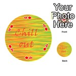 Chill out Playing Cards 54 (Round)  Front - Diamond4
