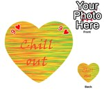 Chill out Playing Cards 54 (Heart)  Front - Heart9