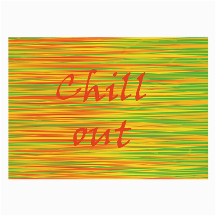 Chill out Large Glasses Cloth